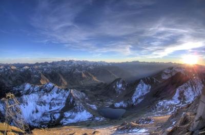Les Pyrénées vues depuis le Pic du Midi