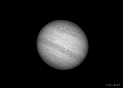 Jupiter en infra rouge (742nm) sept 2010