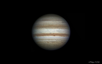 Jupiter RVB 10 oct 2011