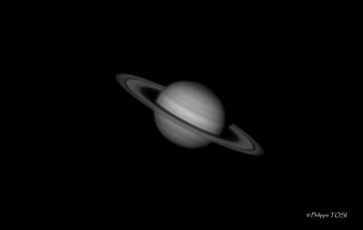 Saturne N&B + filtre w.29