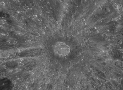 Cratère Tycho en HDR au Pic du midi oct 2011