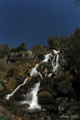 Cascade de l'étang d'Arbu (Ariège)
