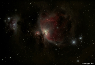 Nébuleuse d'Orion en HDR