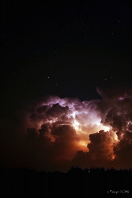 Orage nocturne