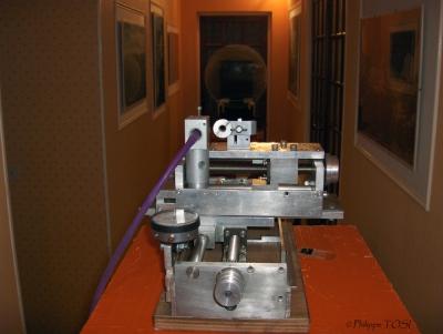 Appareil de foucault et contrôle de parabole sur miroir 600 mm F/4