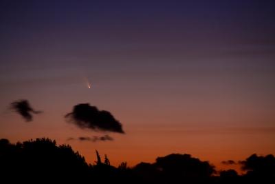 Comète Pan-starrs le 14 Mars 2013