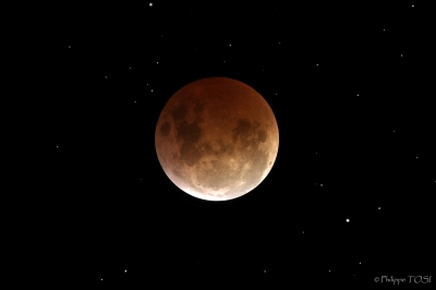 Eclipse lunaire totale 4 mars 2007
