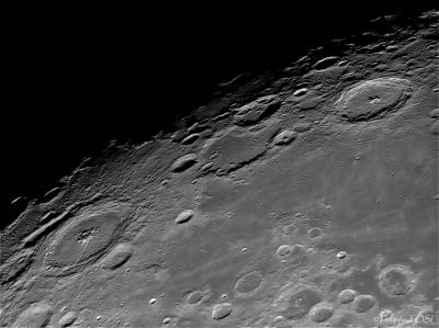 Région du cratère Pétavius