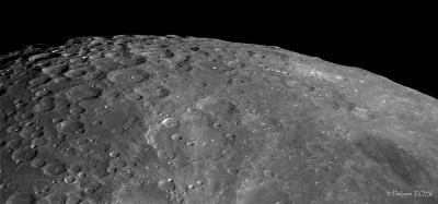 Région du cratère Clavius