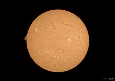 Surface solaire 27 aout 2012